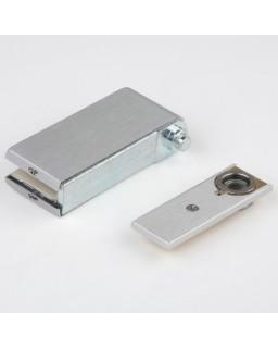 Eckbeschlag, PT, DP15mm, mit Bodenlager, unten, Kappen, F101