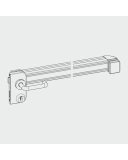 WSS Panikschloss mit Druckstange, B, EV1, links