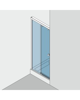 Duschsystem GRAL SO 730, Set 300, Ral Sonderfarbe