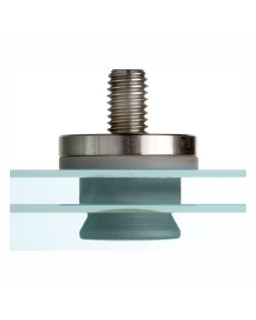 FZP 15x17,5 M8/14 G-Z (6KT) Anker, Verbundglas