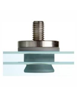 FZP 15x15,5 M8/16 G-Z (6KT) Anker, Verbundglas